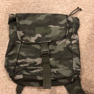 Brand new PINK camo mini backpack